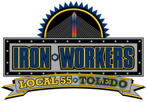 IronWorker Local Union 55 Logo